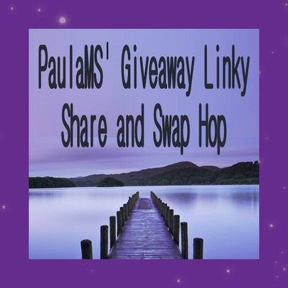 PaulaMS' Giveaway Linky Share And Swap Hop Find More Great Giveaway LInk-Ups Like PaulaMS' Giveaway Grab Bag ... Got One? Add Your Giveaway Link Up Today #ShareSwapHop