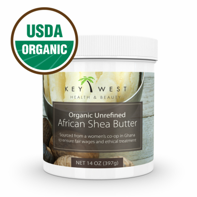 African Raw Unrefined Shea Butter Produced By Women's Co-Ops In Ghana Provide Excellent Moisturizing and Healing Benefits #sheabutter