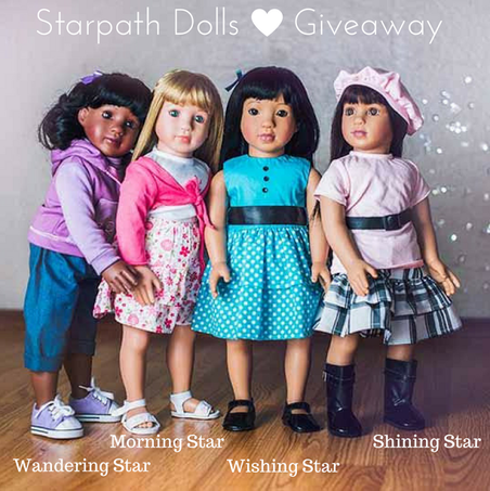 Blogger Opportunity: Starpath Dolls 18.5 Inch Doll Giveaway Dates TBA - FREE & Paid Options